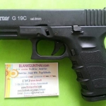 Retay G19 Black Front Firing 9mm.PAK. Blank gun