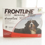 Frontline Plus สุนัข 40-60 kg. (1 หลอด 335.- / 3 หลอด 995.-)
