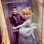 Cinderella and Prince Charming Doll Set - Disney Fairtale Designer Collection