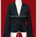 เสื้อสูท สีดำ Black Suit