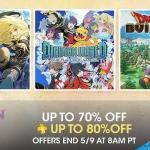 PSN Store US - Golden Week Sale 80%