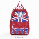 *Pre-Order* กระเป๋าเป้หนังพิมพ์ลาย JTYS & TYC / โยชิดะ japan fashion ขนาด 48x30x15 cm.