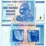 ธนบัตรซิมบับเว ZIMBABWE BANKNOTES