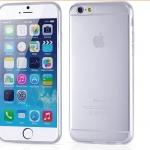 เคสไอโฟน 6/6s เปลือก TPU สีขาว บางเฉียบ 0.3 MM