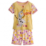 Olaf Sleep Set for Girls - Frozen (2-10 Year )