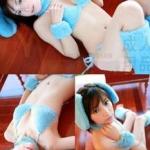 dg002 ชุดแฟนซี ชุดสัตว์น่ารัก สีฟ้า ผ้าหนานุ่มขนปุย ครบเซ็ต 9 ชิ้น ฟรีไซส์คะ