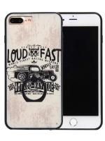 เคสไอโฟน 7 (Silicone Bumper and Hard Case Back) พร้อมห่วง แบบ 3
