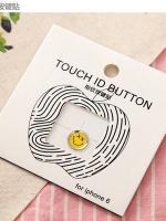 ปุ่มโฮมไฮโฟนขอบเงิน (Touch ID Button) สแกนลายนิ้วมือได้ อมยิ้มแบบ 7