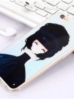 เคสไอโฟน 6 / 6s (TPU CASE) สาวเกาหลีน่ารัก แบบ 11
