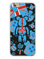 เคสไอโฟน 6 Plus / 6s Plus (TPU CASE) ลายหมี แบบ 6