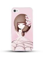 เคสไอโฟน 6 / 6s (TPU CASE) สาวเกาหลีน่ารัก แบบ 15