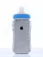 เคสไอโฟน 6 (TPU Case เคสนิ่ม) ขวดนมสีฟ้า