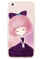 เคสไอโฟน 6 / 6s (TPU CASE) สาวเกาหลีน่ารัก แบบ 4