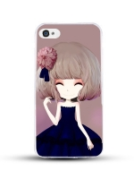 เคสไอโฟน 6 / 6s (TPU CASE) สาวเกาหลีน่ารัก แบบ 16