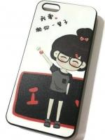 เคสไอโฟน 5C (Hard Case) Korea Girl