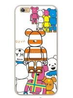 เคสไอโฟน 6 Plus / 6s Plus (TPU CASE) ลายหมี แบบ 3