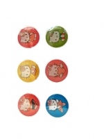 ปุ่มโฮมไอโฟน Hello Kitty (1 Pack/6 ชิ้น)