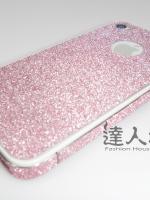 ฟิล์มกันรอยกากเพชร IPhone 5C สีชมพู