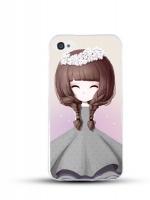 เคสไอโฟน 6 / 6s (TPU CASE) สาวเกาหลีน่ารัก แบบ 7