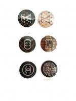 ปุ่มโฮมไอโฟน LV Chanel Gucci etc. (1 Pack/6 ชิ้น)