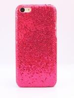 เคสไอโฟน 5C กากเพชรสีชมพูเข้ม