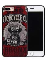เคสไอโฟน 7 (Silicone Bumper and Hard Case Back) พร้อมห่วง แบบ 10