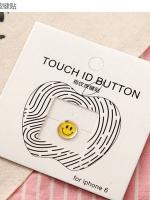 ปุ่มโฮมไฮโฟนขอบทอง (Touch ID Button) สแกนลายนิ้วมือได้ อมยิ้มแบบ 5