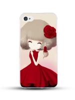 เคสไอโฟน 6 / 6s (TPU CASE) สาวเกาหลีน่ารัก แบบ 1