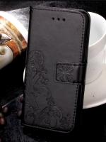 เคสไอโฟน 7 (Wallet Case) BLACK