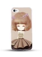 เคสไอโฟน 6 / 6s (TPU CASE) สาวเกาหลีน่ารัก แบบ 3
