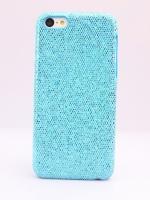 เคสไอโฟน 5C กากเพชรสีฟ้า
