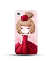 เคสไอโฟน 6 / 6s (TPU CASE) สาวเกาหลีน่ารัก แบบ 6