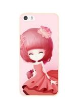 เคสไอโฟน 6 / 6s (TPU CASE) สาวเกาหลีน่ารัก แบบ 9
