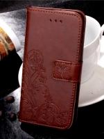 เคสไอโฟน 7 (Wallet Case) BROWN