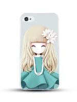 เคสไอโฟน 6 / 6s (TPU CASE) สาวเกาหลีน่ารัก แบบ 21