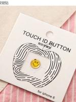 ปุ่มโฮมไฮโฟนขอบทอง (Touch ID Button) สแกนลายนิ้วมือได้ อมยิ้มแบบ 2