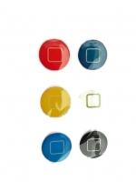 ปุ่มโฮมไอโฟน Home Colorful (1 Pack/6 ชิ้น)