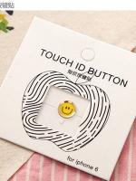 ปุ่มโฮมไฮโฟนขอบทอง (Touch ID Button) สแกนลายนิ้วมือได้ อมยิ้มแบบ 1