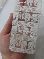 เคสไอโฟน5/5s/SE (TPU CASE) เคสยางคลุมรอบเครื่องลายช้างไทย