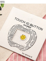 ปุ่มโฮมไฮโฟนขอบเงิน (Touch ID Button) สแกนลายนิ้วมือได้ อมยิ้มแบบ 6