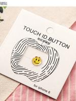 ปุ่มโฮมไฮโฟนขอบทอง (Touch ID Button) สแกนลายนิ้วมือได้ อมยิ้มแบบ 4