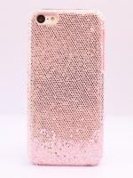 เคสไอโฟน 5C กากเพชรสีชมพูอ่อน