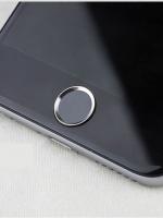ปุ่มโฮมไฮโฟน (Touch ID Button) สแกนลายนิ้วมือได้ สีดำขอบเงิน
