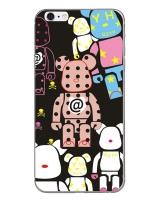 เคสไอโฟน 6 Plus / 6s Plus (TPU CASE) ลายหมี แบบ 4