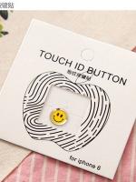 ปุ่มโฮมไฮโฟนขอบเงิน (Touch ID Button) สแกนลายนิ้วมือได้ อมยิ้มแบบ 10