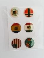 ปุ่มโฮมไอโฟน ธงชาติ (1 Pack/6 ชิ้น)