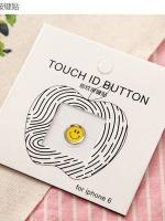 ปุ่มโฮมไฮโฟนขอบเงิน (Touch ID Button) สแกนลายนิ้วมือได้ อมยิ้มแบบ 8