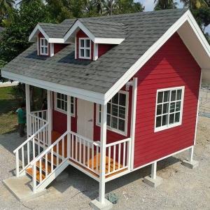 บ้านน็อคดาวน์ : บ้านตะวันตร 4x4 เมตร