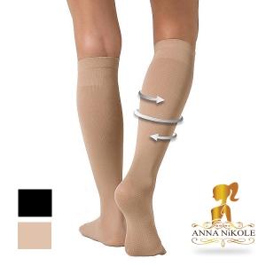 ถุงเท้าลดน่อง ป้องกันเส้นเลือดขอดและอาการปวดขา Free Size ลดเซลล์ลูไลท์ เส้นเลือดขอด รอยแตกลาย นาโน อินฟราเรด