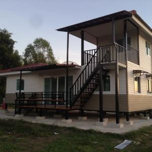 บ้านน็อคดาวน์ : บ้านแฝน 11x8 เมตร